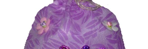 Gift Bag Leave Purpel2